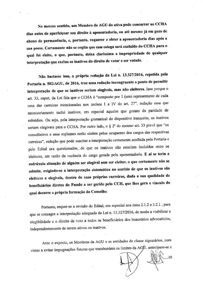 Anpprev Entra Com Impugnação Ao Edital De Eleições Para Ccha